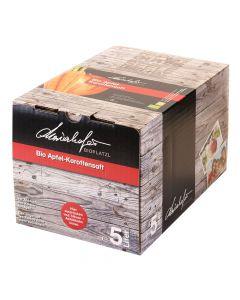 Bio Apfel Karottensaft naturtrüb Bag in Box 5 Liter