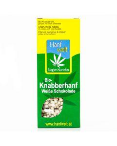 Bio-Knabberhanf Weiße Schokolade 75g