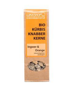 Bio Kürbiskerne Ingwer Orange 80g