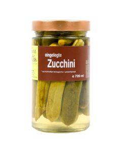 Bio Zucchini eingelegt 720ml
