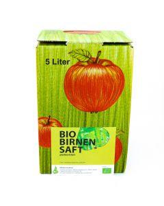 Bio Birnensaft Bag in Box 5l