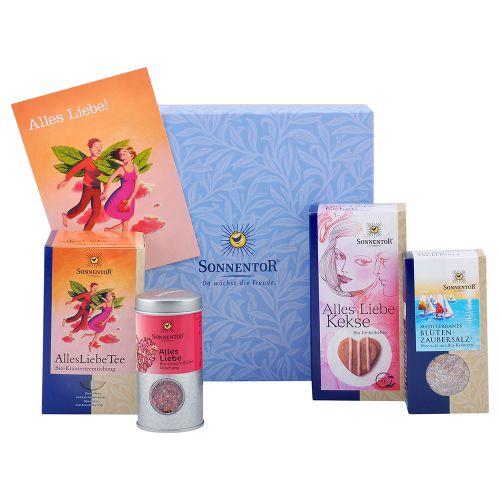 Bio Sonnentor Alles Liebe Geschenkkarton