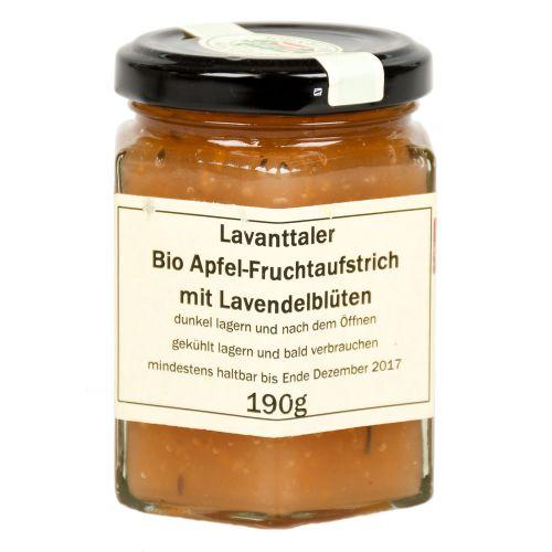 Lavanttaler Bio Apfel Fruchtaufstrich mit Lavendelblüten 190g