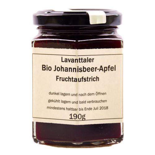 Lavanttaler Bio Johannisbeer-Apfel Fruchtaufstrich 190g