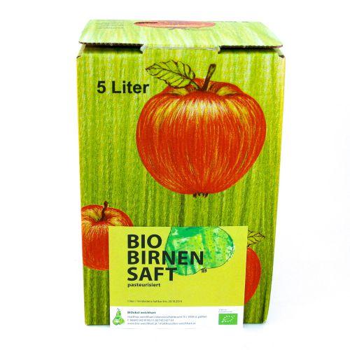 Bio Birnensaft Bag in Box